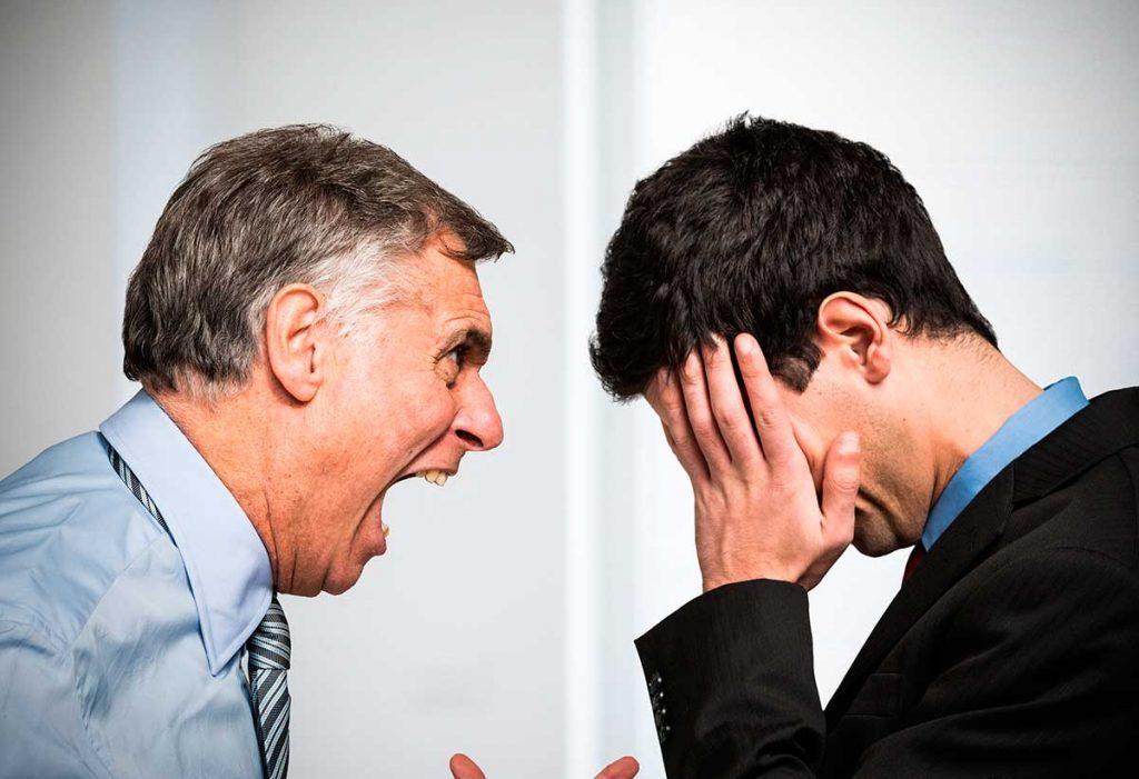 Procedimiento para Denunciar Acoso laboral gritos del jefe al trabajador